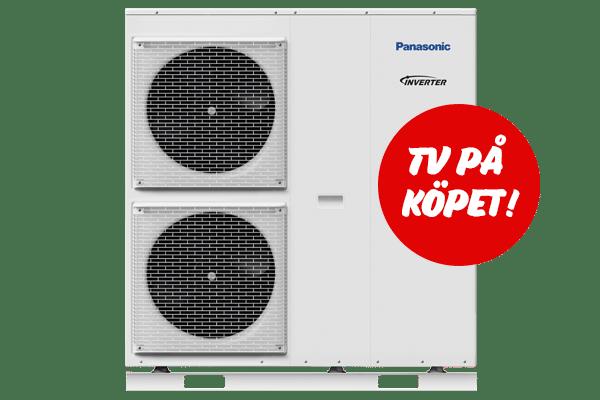 Sverigepumpen Block luft vatten värmepump tv på köpet